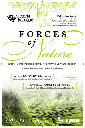 Victoria Baroque presents: Force of Nature: Victoria Baroque, Kati Debretzeni @ St. John The Divine Jan 10 2020 - Jan 19th @ St. John The Divine