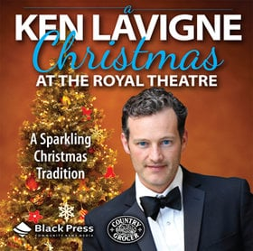 Songs and Stories of Christmas: Ken Lavigne @ Royal Theatre Dec 7 2019 - Jan 17th @ Royal Theatre