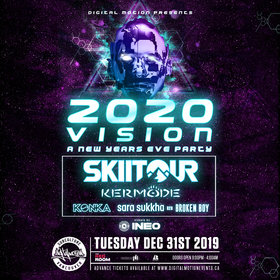 2020 Vision NYE w/ SkiiTour & Kermode - SOLD OUT! @ The Red Room Dec 31 2019 - Jun 5th @ The Red Room
