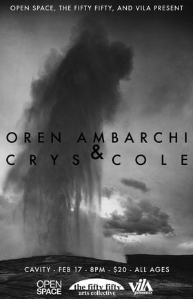 Oren Ambarchi, crys cole @ CAVITY Curiosity Shop Feb 17 2020 - Jan 17th @ CAVITY Curiosity Shop