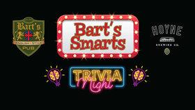 Bart's Smarts with Dr.Watson @ Bartholomews Pub Dec 18 2019 - Oct 16th @ Bartholomews Pub