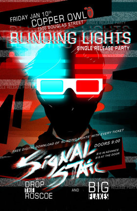 'Blinding Lights' Single Release Party: Signal Static, Drop The Roscoe, Big Flakes @ Copper Owl Jan 10 2020 - Aug 7th @ Copper Owl