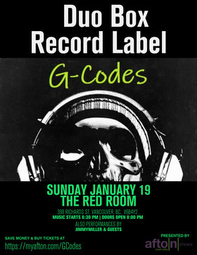 AFTON JANUARY VANCOUVER SHOWCASE @ The Red Room Jan 19 2020 - Jun 5th @ The Red Room