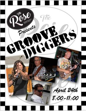 Groove Diggers @ The Rose: Groove Diggers @ Country Rose Pub Apr 24 2020 - Apr 1st @ Country Rose Pub