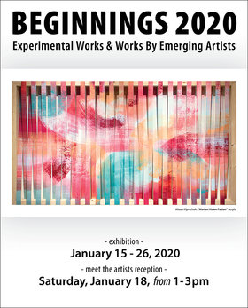 Beginnings 2020 @ Coast Collective Art Centre Jan 15 2020 - Jan 25th @ Coast Collective Art Centre