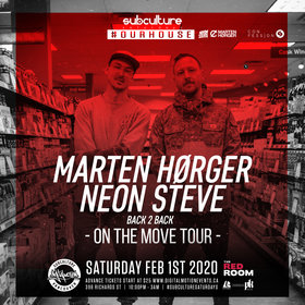 #OurHouse: Marten Horger, Neon Steve @ The Red Room Feb 1 2020 - May 29th @ The Red Room