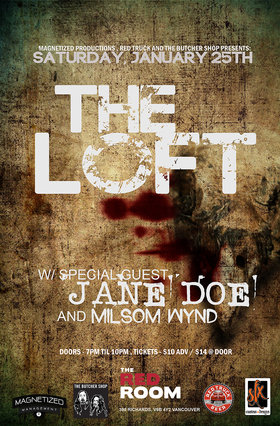 loft, Jane Doe, Milsom Wynd @ The Red Room Jan 25 2020 - Jun 5th @ The Red Room