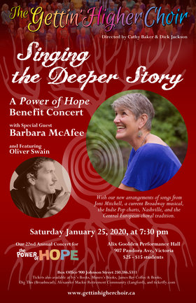 Gettin' Higher Choir fundraiser for Power of Hope @ Alix Goolden Performance Hall Jan 25 2020 - Sep 29th @ Alix Goolden Performance Hall