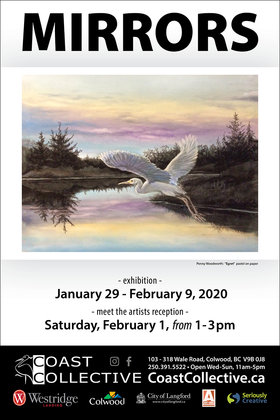 Mirrors @ Coast Collective Art Centre Jan 29 2020 - Apr 4th @ Coast Collective Art Centre