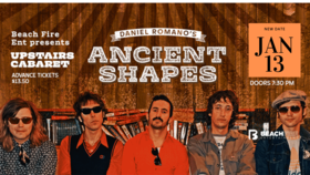 Daniel Romano's Ancient Shapes  @ The Upstairs Cabaret Jan 13 2020 - Jan 28th @ The Upstairs Cabaret