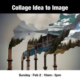 Collage: From Idea to Image: Kate Scoones @ Vancouver Island School of Art Feb 2 2020 - Jan 25th @ Vancouver Island School of Art