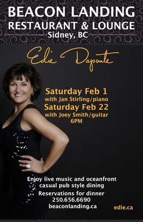 Live at the Landing: Edie DaPonte, Jan Stirling, Joey Smith @ Beacon Landing Restaurant & Lounge Feb 1 2020 - Oct 30th @ Beacon Landing Restaurant & Lounge