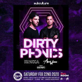 Dirty Phonics @ The Red Room Feb 22 2020 - Feb 25th @ The Red Room