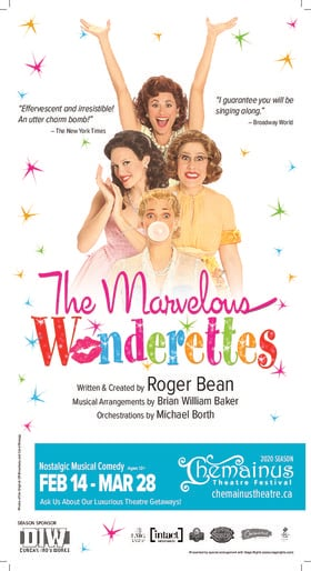 The Marvelous Wonderettes (PREVIEW) @ Chemainus Theatre Festival Mar 28 2020 - Feb 24th @ Chemainus Theatre Festival