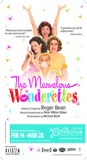 The Marvelous Wonderettes (PREVIEW) @ Chemainus Theatre Festival Mar 28 2020 - Feb 21st @ Chemainus Theatre Festival