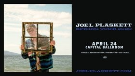 Joel Plaskett @ Capital Ballroom Apr 24 2020 - Mar 30th @ Capital Ballroom