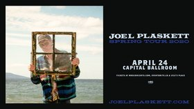 Joel Plaskett @ Capital Ballroom Apr 24 2020 - Apr 4th @ Capital Ballroom