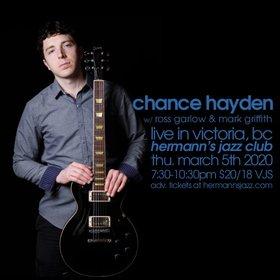 Chance Hayden (Portland) @ Hermann's Jazz Club Mar 5 2020 - Oct 19th @ Hermann's Jazz Club
