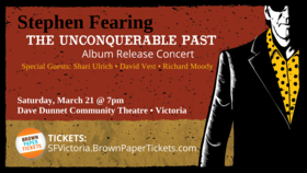 Stephen Fearing Album Release Concert: Stephen Fearing, Shari Ulrich, David Vest, Richard Moody @ Dave Dunnet Theatre Mar 21 2020 - Jan 19th @ Dave Dunnet Theatre