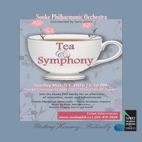 TEA & SYMPHONY @ Sooke Community Hall Mar 1 2020 - Oct 20th @ Sooke Community Hall