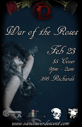 Descent War of the Roses @ The Red Room Feb 23 2020 - May 29th @ The Red Room