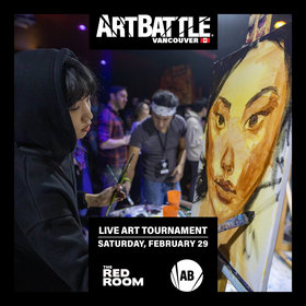 Art Battle Vancouver - February 29, 2020 @ The Red Room Feb 29 2020 - May 29th @ The Red Room