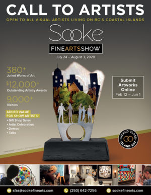 Call to Artists - 2020 Sooke Fine Arts Show
