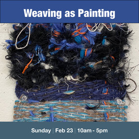 Weaving as Painting: Everett Wong @ Vancouver Island School of Art Feb 23 2020 - Feb 19th @ Vancouver Island School of Art