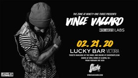 Vince Vaccaro, Labs @ Lucky Bar Feb 21 2020 - Oct 1st @ Lucky Bar