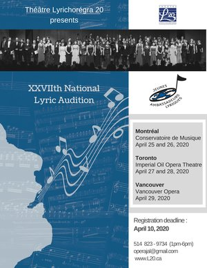 National Lyric Auditions