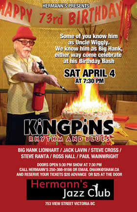 The Kingpins - Rhythm & Blues - 73rd Birthday Bash @ Hermann