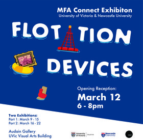 Flotation Devices @ UVic Visual Arts Building Mar 9 2020 - Nov 30th @ UVic Visual Arts Building