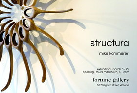 Structura: Mike Kammerer @ Fortune Gallery Mar 5 2020 - Jul 8th @ Fortune Gallery