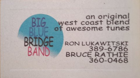 The Big Blue Bridge Band