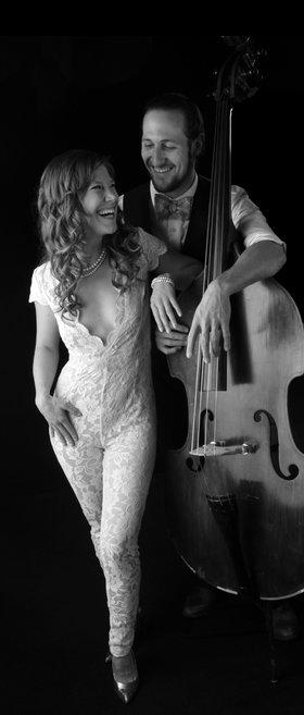 Ashley Wey and Louis Rudner @ Hermann's Jazz Club Mar 29 2020 - Oct 15th @ Hermann's Jazz Club