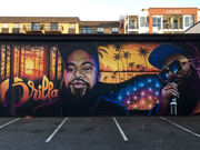 Orrilla Tribute Mural by Ian George, Def 3,  Logan Ford