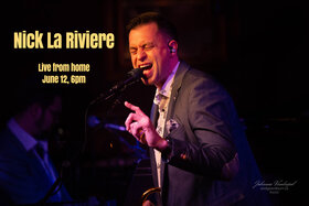 Nick La Riviere Live From Home @ Hermann's Jazz Club Jun 12 2020 - Aug 10th @ Hermann's Jazz Club