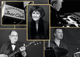 Edie Daponte f. Joey Smith, Tony Genge & Damian Graham @ Hermann's Jazz Club Jun 27 2020 - Oct 21st @ Hermann's Jazz Club