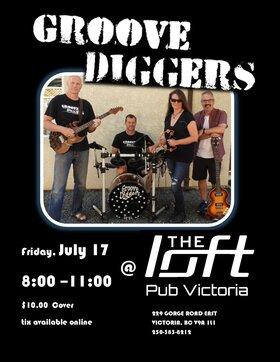 Groove diggers @ the Loft: Groove Diggers @ The Loft (Victoria) Jul 17 2020 - Oct 20th @ The Loft (Victoria)