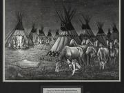 Stealing Blackfoot Horses by  Ed Peekeekoot