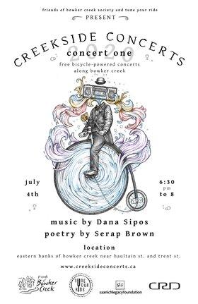 Creekside Concert #1: Dana Sipos @ Online Jul 4 2020 - Sep 19th @ Online