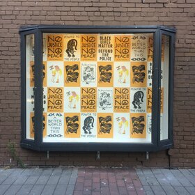 BLM Protest Posters: The Riso Collective - Oct 26th @ Ministry of Casual Living Window Gallery