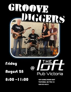 Groove Diggers @ The Loft (Victoria) Aug 28 2020 - Sep 26th @ The Loft (Victoria)