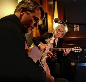 Westwood ~ ambient & eclectic guitar duo: Cook & MacPherson @ Brentwood Bay Resort And Spa Sep 25 2020 - Oct 18th @ Brentwood Bay Resort And Spa