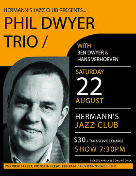 Phil Dwyer and the 'Family Band' @ Hermann's Jazz Club Aug 22 2020 - Oct 25th @ Hermann's Jazz Club