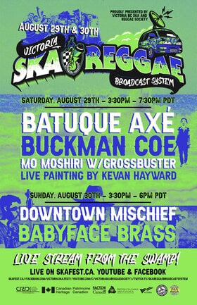 LIVE STREAM FROM THE SWAMP - DAY 2!: Downtown Mischief, BABYFACE BRASS @ Live Stream from The Swamp! Aug 30 2020 - Sep 26th @ Live Stream from The Swamp!