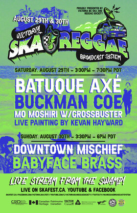 LIVE STREAM FROM THE SWAMP!: Batuque Axe! , Buckman Coe, Mo Moshiri, Grossbuster @ Live Stream from The Swamp Day 1! Aug 29 2020 - Oct 26th @ Live Stream from The Swamp Day 1!