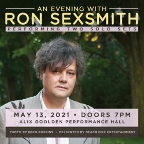 Ron Sexsmith @ Alix Goolden Performance Hall Mar 20 2022 - Sep 18th @ Alix Goolden Performance Hall