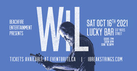 Wil @ Lucky Bar Oct 16 2021 - Sep 18th @ Lucky Bar
