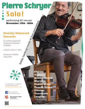 PIERRE SCHRYER - SOLO @ Hermann's Jazz Club Nov 17 2020 - Oct 23rd @ Hermann's Jazz Club